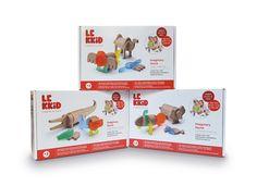 LEKKID Imaginary Fauna Set Boxes #creative #educational #toys