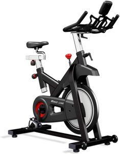KOUZ LIVE Indoor Stationary Magnetic Spin Bike Review – Health and Fitness Critique Spin Bike For Home, Spin Bikes, Aerobics Workout, Bike Reviews, Low Impact Workout, Workout Session, Burn Calories, Weight Training, No Equipment Workout