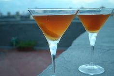 Brooklyn Nonino (created by Cocktail Buzz)  Ingredients 1 1/2 ounces rye (we used Wild Turkey) 1/2 ounce dry vermouth (we used Noilly Prat) 1/4 ounce Amaro Nonino 1/4 ounce maraschino liqueur (we used Luxardo) orange peel, as garnish.