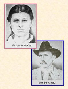 Roseanna McCoy and Johnse Hatfield