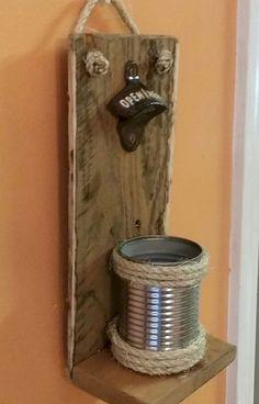 Cool diy projects - 40 Fantastic Easy Crafts DIY Projects Ideas To Make Money – Cool diy projects Diy Craft Projects, Easy Woodworking Projects, Easy Diy Crafts, Fine Woodworking, Woodworking Workshop, Diy Bottle Opener, Beer Bottle Opener, Palette Deco, Wood Crafts