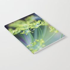 Dill flowers in herb garden Notebook by poppy - x Lined Journal Entries, Wraparound, Herb Garden, Notebooks, Poppy, Minimal, Doodles, Herbs, Deep