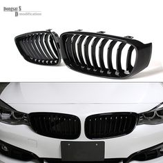 single grid gloss black front bumper grill replacement for bmw 3 series F34 GT gran turismo 320i 328i 335i 2013 2014 2015 2016