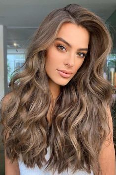 """5 More Special Balayage Ash Hair Colors"""" Get An Incomparable Hair Beauty - Are you thinking about making hair popular or being a popular hair colorist? Brown Hair Shades, Brown Blonde Hair, Brown Hair With Highlights, Light Brunette Hair, Cool Brown Hair, Light Ash Brown Hair, Ash Brown Hair Color, Hazel Hair Color, Light Brown Hair Colors"""