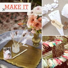 30 DIY wedding projects for my engaged and *NEWLY* engaged friends ;)