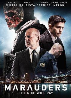 FBI agents (Christopher Meloni, Dave Bautista) uncover a conspiracy while trying to nail a group of deadly bank robbers. Streaming Hd, Streaming Movies, Hd Movies, Disney Movies, Movies To Watch, Movies Online, Christopher Meloni, Plan Maestro, Film D