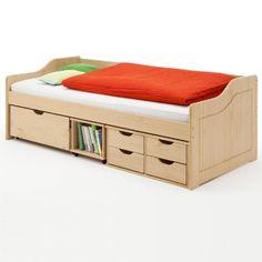 Funktionsbett 90x200 buche  Bett mit Schubladen Maxima Funktionsbett Kinderbett Sofabett ...