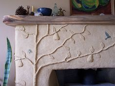 plaster relief | plaster relief work | Earth Homes 1