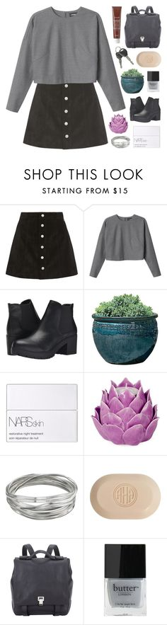 """RUNNING WILD"" by f-4bulous ❤ liked on Polyvore featuring AG Adriano Goldschmied, Monki, Steve Madden, Campania International, NARS Cosmetics, Zara Home, Whistles, Carved Solutions, Proenza Schouler and Butter London"
