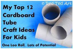 10+ Cardboard Tube Crafts (Loo Roll Crafts!)