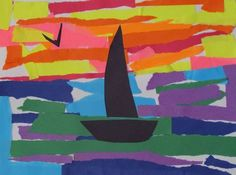 Mr. O's Art Room: 2nd Grade Warm and Cool Color Collages