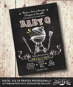 Hey, I found this really awesome Etsy listing at https://www.etsy.com/listing/281353268/couples-bbq-baby-shower-invitation-co-ed