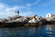 Pre wedding shoot in Hydra island