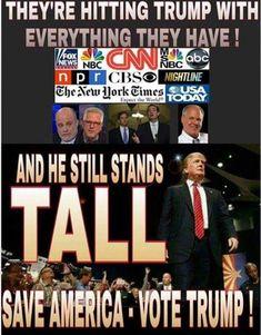 Resultado de imagen de trump contra establishment