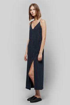 Atea Oceanie Front Slit Slip Dress | HOPE Relax Shoes | My Chameleon