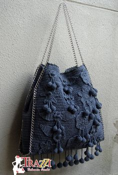 Catiele Crochê: Bolsa Similar Stella Mccartney - New Grey