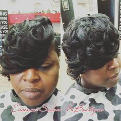 It's all about the swoop Essence Salon and Boutique 131 Eastern Blvd Montgomery AL 36117 call to schedule your appointment 334272-1111