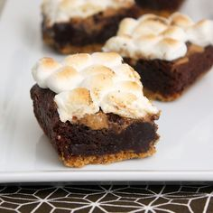 Yummy peanut butter smores