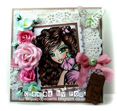 Wild Orchid Crafts: Pinks and Greens