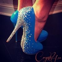 Custom shoes and accessories for discerning clients...Great Idea