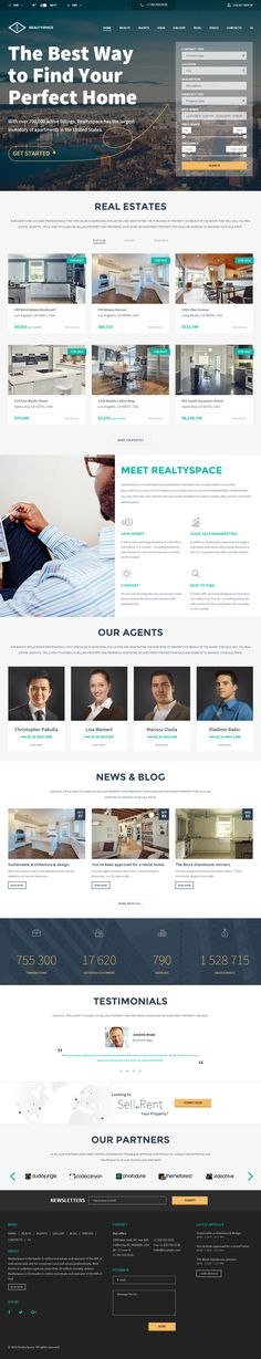 Realtyspace is Premium full Responsive Retina HTML5 #RealEstate #Template. Bootstrap 3 Framework. #Flat Design. Google Map. Test free demo at: http://www.responsivemiracle.com/cms/realtyspace-premium-responsive-real-estate-html5-template/