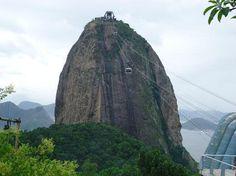 Sugar Loaf Mountain (Pao de Acucar), Rio de Janeiro  - sketch!