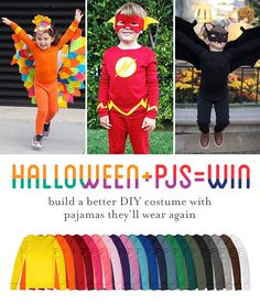 The easiest (and coziest) DIY Halloween costumes start with Primary PJs! Shop super soft, solid color kids pjs in 21 vibrant colors, perfect for DIY creations. New friends save 20% with code PIN20PCT and FREE shipping always with no minimum!