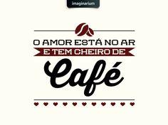Café = amor. Pro dia começar bem! <3 Quem aí já tomou a primeira xícara do dia?