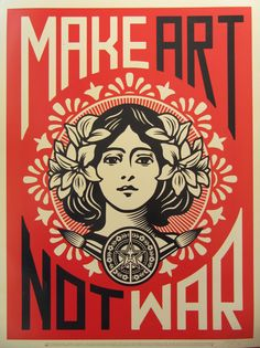 Peace Girl by Shepard Fairey on artnet Auctions