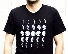 moon phase shirt on Etsy, a global handmade and vintage marketplace.