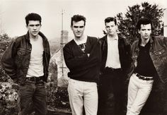 The Smiths (1987) -- photo by Pat Bellis.
