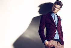 Andy Walters by Andreas Kock for Café #fashionphotography #fashion