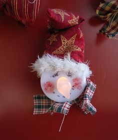 Cat 'n Cart Crafts: Little Christmas Ornaments