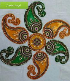 Diwali Decorations, Diy Party Decorations, Handmade Decorations, Arti Thali Decoration, Ganapati Decoration, Rangoli Ideas, Rangoli Designs, Hobbies And Crafts, Diy And Crafts