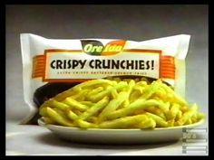 OreIda Crispy Crunchies Commercial 1994 - YouTube