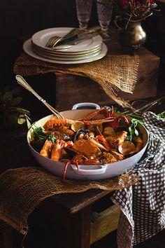Yerbabuena en la cocina: Caldereta de pescado y marisco