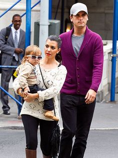 Love both Kourtney's and Scott's casual style.