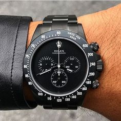 Rolex Watches Collection : (notitle) - Watches Topia - Watches: Best Lists, Trends & the Latest Styles Rolex Watches For Men, Luxury Watches For Men, Rolex Daytona, Stylish Watches, Cool Watches, Herren Chronograph, Swiss Army Watches, Dream Watches, Expensive Watches