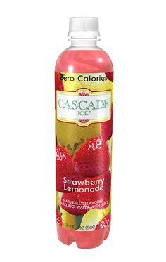 Cascade Ice Strawberry Lemonade - my new favorite beverage Ocean Spray Cranberry, Strawberry Lemonade, Beverages, Drinks, Sparkling Ice, Nom Nom, Zero, Healthy Living, Water