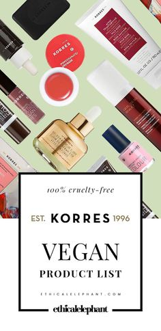 KORRES is a cruelty-free brand with several vegan skin, bath & body, and makeup products! Use this list to find out which are vegan-friendly!
