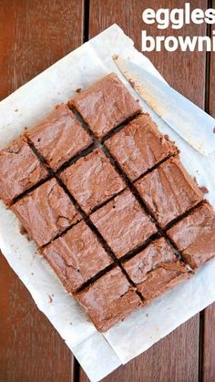 Chocolate Dishes, Cooking Chocolate, Chocolate Cookie Recipes, Brownie Recipes, Chocolate Brownies, Chocolate Truffles, Eggless Desserts, Eggless Recipes, Eggless Baking