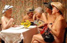 Original Calendar Girls reunite to bare all again 10 years on... and this time they're in colour