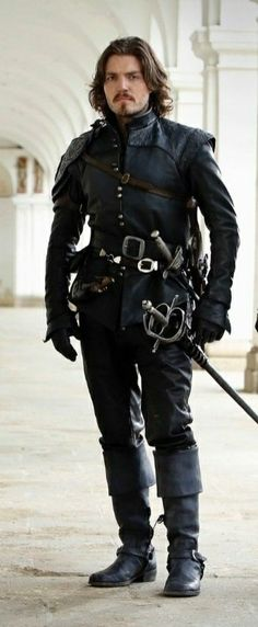The Musketeers Tv Series, Bbc Musketeers, The Three Musketeers, Fantasy Armor, Medieval Fantasy, Fantasy Inspiration, Character Inspiration, The Muskateers, Larp