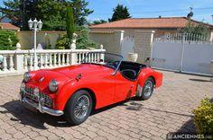 TRIUMPH TR3A cabriolet - 1962 ✏✏✏✏✏✏✏✏✏✏✏✏✏✏✏✏ IDEE CADEAU / CUTE GIFT IDEA  ☞ http://gabyfeeriefr.tumblr.com/archive ✏✏✏✏✏✏✏✏✏✏✏✏✏✏✏✏