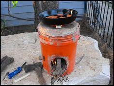 DIY rocket stove | Living Off the Grid: Free Yourself
