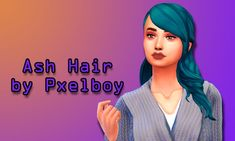 Ash Hair by Pxelboy  I still love these dine out bangs and this luxury party