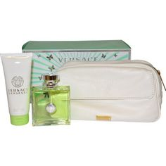 Versace Versense By Versace for Women Gift Set by Versace. $75.99. It is recommended for casual wear.. 3 piece Gift Set 3.4 ounce EDT Spray, 3.4 ounce Revitalizing Body Lotion, Travel Bag. Versace Versense was launched by the design house of Versace. Versace Versense was launched by the design house of Versace. It is recommended for casual wear.. Save 20% Off!