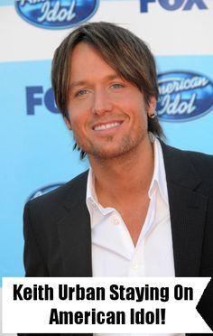Keith Urban returning as judge on next season of American Idol