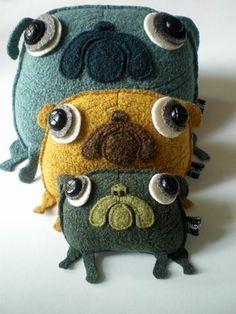 Lovely #pug 'Neptun', from Maldimaglia oln Etsy...