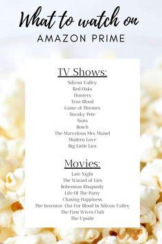 Best Movies On Prime, Amazon Prime Movies List, Amazon Prime Tv Shows, Best Teen Movies, Must Watch Netflix Movies, Netflix Movie List, Movie To Watch List, Tv Series To Watch, Netflix Hacks
